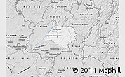 Silver Style Map of Luxembourg