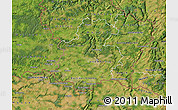 Satellite Map of Luxembourg