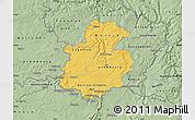Savanna Style Map of Luxembourg