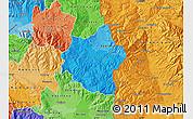 Political Shades Map of Berovo