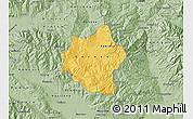 Savanna Style Map of Berovo