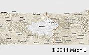 Classic Style Panoramic Map of Berovo