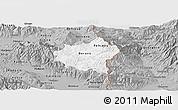 Gray Panoramic Map of Berovo