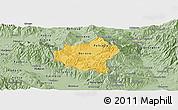 Savanna Style Panoramic Map of Berovo