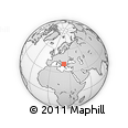 Outline Map of Bitola