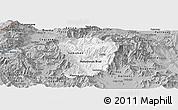 Gray Panoramic Map of Brod
