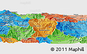 Political Shades Panoramic Map of Brod