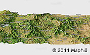 Satellite Panoramic Map of Brod