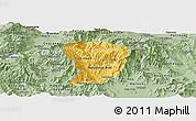 Savanna Style Panoramic Map of Brod