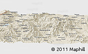 Shaded Relief Panoramic Map of Brod
