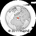 Outline Map of Debar