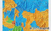 Political Map of Delcevo