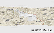Classic Style Panoramic Map of Delcevo