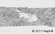 Gray Panoramic Map of Delcevo