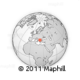 Outline Map of Miravci