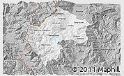 Gray 3D Map of Gostivar