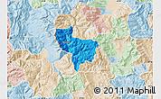 Political Map of Rostusa, lighten