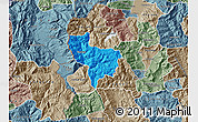 Political Map of Rostusa, semi-desaturated