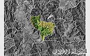 Satellite Map of Rostusa, desaturated