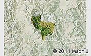Satellite Map of Rostusa, lighten