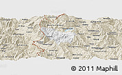 Classic Style Panoramic Map of Rostusa