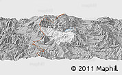Gray Panoramic Map of Rostusa