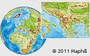 Physical Location Map of Srbinovo