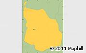Savanna Style Simple Map of Srbinovo
