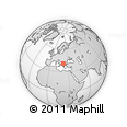 Outline Map of Konopiste