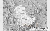 Gray Map of Kavadarci