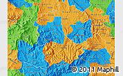 Political Map of Kavadarci