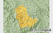 Savanna Style Map of Kavadarci
