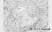 Silver Style Map of Kavadarci