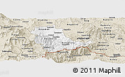 Classic Style Panoramic Map of Kavadarci