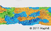 Political Panoramic Map of Kavadarci