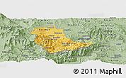 Savanna Style Panoramic Map of Kavadarci