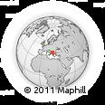 Outline Map of Oslomej