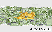Savanna Style Panoramic Map of Kicevo