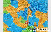 Political Map of Kocani