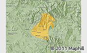 Savanna Style Map of Kocani
