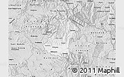 Silver Style Map of Kocani