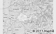 Silver Style Map of Kratovo