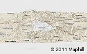 Classic Style Panoramic Map of Kriva Palanka