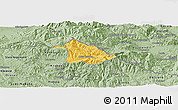 Savanna Style Panoramic Map of Kriva Palanka