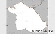 Gray Simple Map of Kriva Palanka