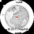 Outline Map of Klecevce