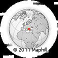 Outline Map of Kumanovo