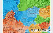 Political Shades Map of Kumanovo