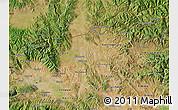 Satellite Map of Kumanovo