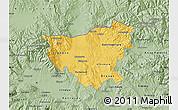 Savanna Style Map of Kumanovo